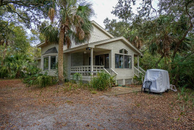 Fripp Island Single Family Home For Sale: 292 Tarpon Boulevard