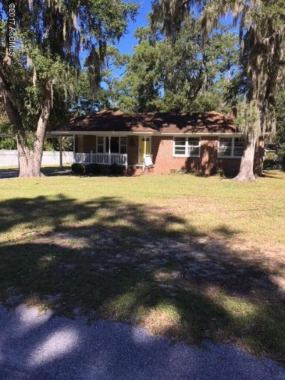 Beaufort County Single Family Home Under Contract - Take Backup: 2613 Boyer Street