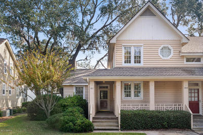 Beaufort Condo/Townhouse For Sale: 1207 Barnwell Bluff