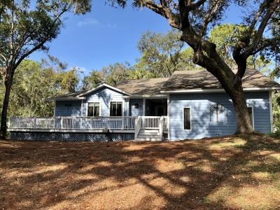 Fripp Island Single Family Home For Sale: 11 Marsh Hen Cove