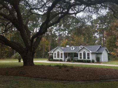 Beaufort, Beaufort Sc, Beaufot Single Family Home For Sale: 7603 Joe Allen Drive