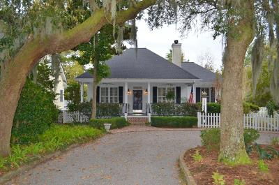 Beaufort, Beaufort Sc, Beaufot Single Family Home For Sale: 98 Bostick Circle
