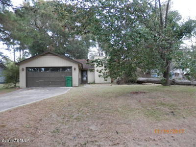 Beaufort Single Family Home For Sale: 6093 Vaux Road