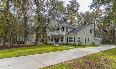 Beaufort County Single Family Home For Sale: 3 Osprey Road