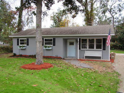 Beaufort County Single Family Home Under Contract - Take Backup: 913 Belleview Circle W