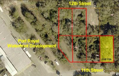 Port Royal Residential Lots & Land Under Contract - Take Backup: 1110 11th Street