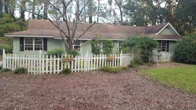 Beaufort Single Family Home Under Contract - Take Backup: 1513 Riverside Drive