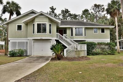 Fripp Island Single Family Home For Sale: 515 Remora Drive