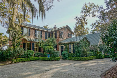 Beaufort, Beaufort Sc, Beaufot Single Family Home For Sale: 875 Ribaut Road