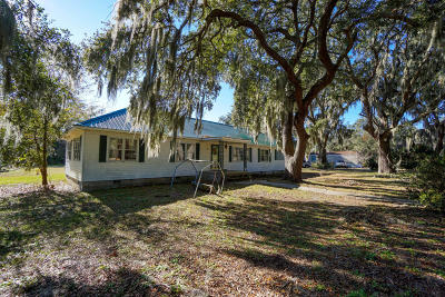 Beaufort, Beaufort Sc, Beaufot Single Family Home For Sale: 21 Ice House Road