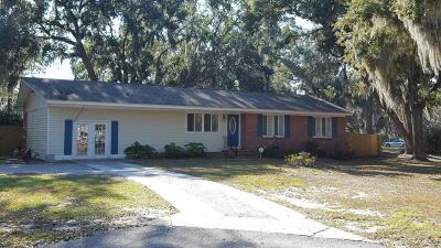 Beaufort SC Single Family Home For Sale: $189,000
