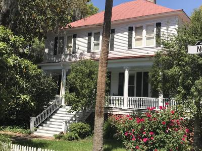 Beaufort, Beaufort Sc, Beaufot Single Family Home For Sale: 1401 North Street