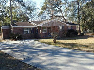 Beaufort, Beaufort Sc, Beaufot Single Family Home For Sale: 2402 Mossy Oaks Road