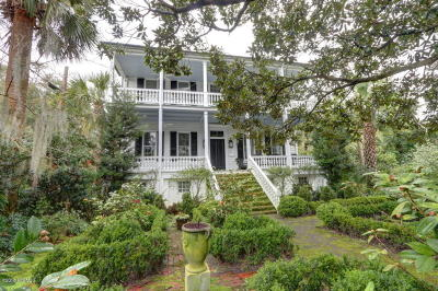 Beaufort, Beaufort Sc, Beaufot Single Family Home For Sale: 511 Prince Street