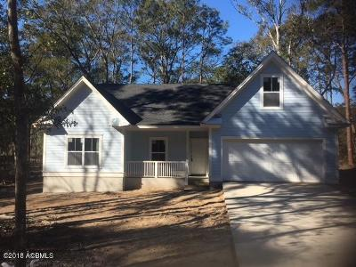 Beaufort, Beaufort Sc, Beaufot Single Family Home For Sale: 113 Middle Road