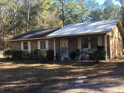 Beaufort County Single Family Home Under Contract - Take Backup: 183 Bay Pines Road