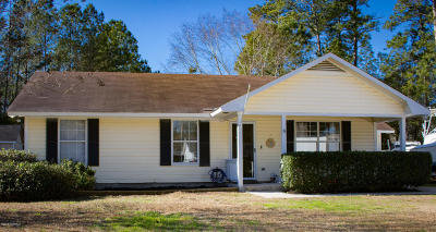 Beaufort SC Single Family Home For Sale: $155,000