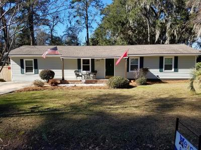 Beaufort, Beaufort Sc, Beaufot Single Family Home For Sale: 293 Broad River Drive