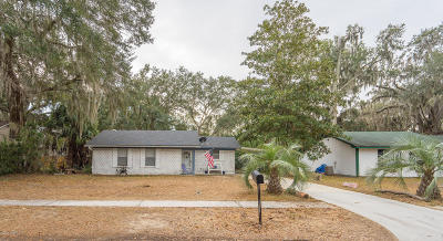 Port Royal Single Family Home For Sale: 1111 13th Street