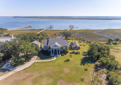 Beaufort County Single Family Home Under Contract - Take Backup: 10 Judge Island Drive