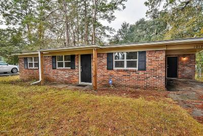 Beaufort Single Family Home For Sale: 1012 Pecan Street