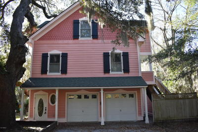 Port Royal, Port Ryal, Pt. Royal Single Family Home Under Contract - Take Backup: 1101 11th Street