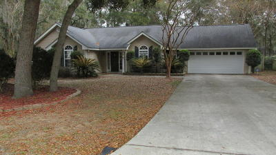 Beaufort County Single Family Home Under Contract - Take Backup: 10 Meagan Drive