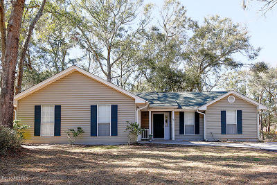 Beaufort SC Single Family Home For Sale: $205,000
