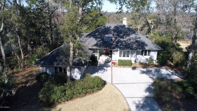 Beaufort County Single Family Home For Sale: 228 Cotton Dike Road