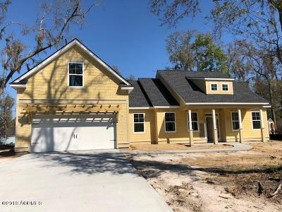 Beaufort Single Family Home For Sale: 3 Sandpiper Drive