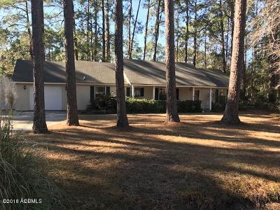 Beaufort County Single Family Home Under Contract - Take Backup: 19 Thomas Sumter Street