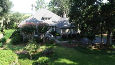 Beaufort County Single Family Home For Sale: 208 Cotton Dike Road