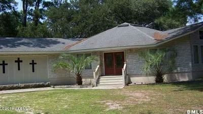 Beaufort, Beaufort Sc, Beaufot Single Family Home For Sale: 1 Joe Frazier Road