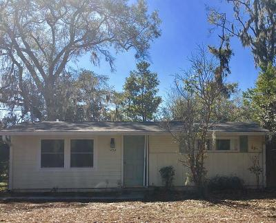 Beaufort Single Family Home For Sale: 1604 Park Avenue