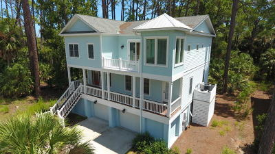 Fripp Island Single Family Home For Sale: 161 Davis Love Drive