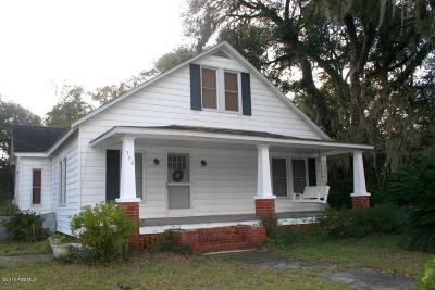 Ridgeland Single Family Home For Sale: 360 E Wilson Street
