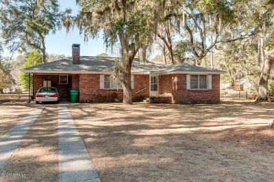 Beaufort, Beaufort Sc, Beaufot Single Family Home For Sale: 514 Center Drive W