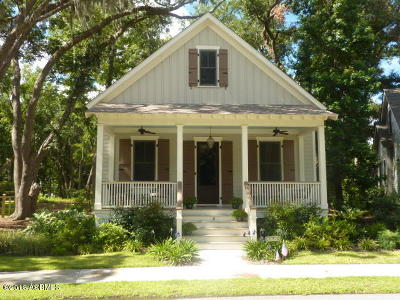 Beaufort, Beaufort Sc, Beaufot, Beufort Single Family Home For Sale: 6 Park