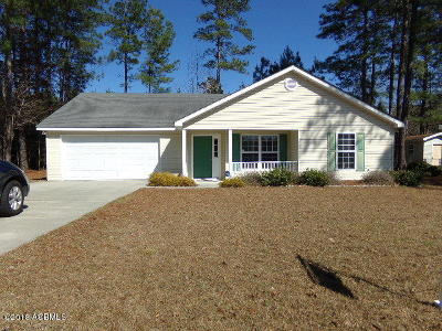 Ridgeland Single Family Home For Sale: 125 Ridgeland Lakes Drive
