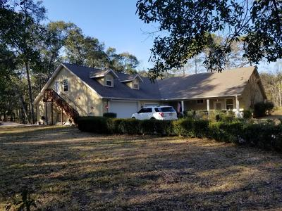 Beaufort County Single Family Home For Sale: 179 Sawmill Creek Road