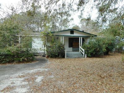 Beaufort Single Family Home For Sale: 21 Calico Ct