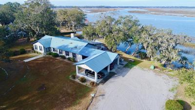 Beaufort, Beaufort Sc, Beaufot Single Family Home For Sale: 14 Riverfront Place