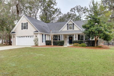 Beaufort County Single Family Home For Sale: 103 Brickyard Hills Drive
