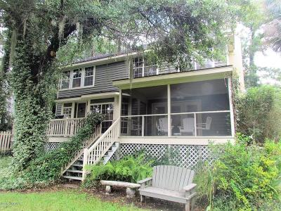 Beaufort, Beaufort Sc, Beaufot Single Family Home For Sale: 366 Cottage Farm