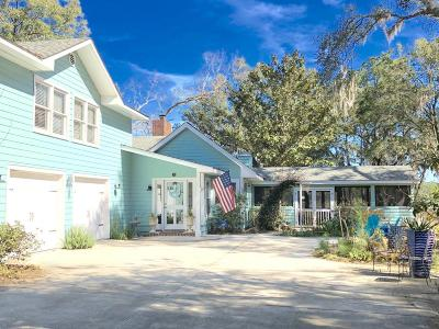 Beaufort, Beaufort Sc, Beaufot Single Family Home For Sale: 4 Attaway Lane