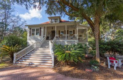 Seabrook Single Family Home For Sale: 80 Jasmine Hall Road