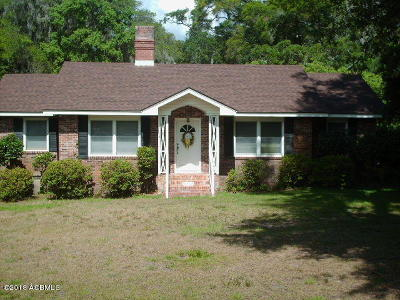 Beaufort, Beaufort Sc, Beaufot Single Family Home For Sale: 750 Ribaut Road