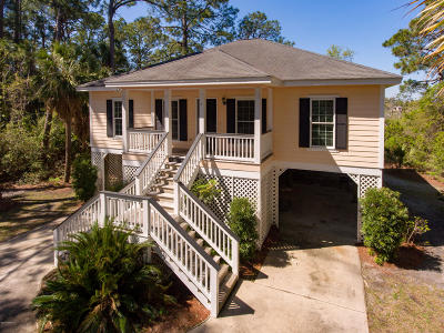 Beaufort County Single Family Home For Sale: 6 Lakeview Lane
