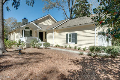 Beaufort County Single Family Home For Sale: 41 Callawassie Club Drive