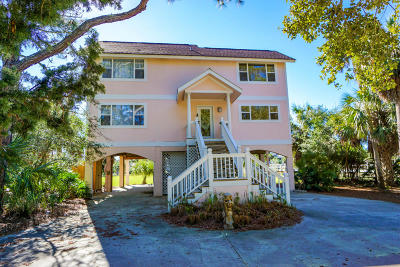 Fripp Island Single Family Home For Sale: 424 Wahoo Drive